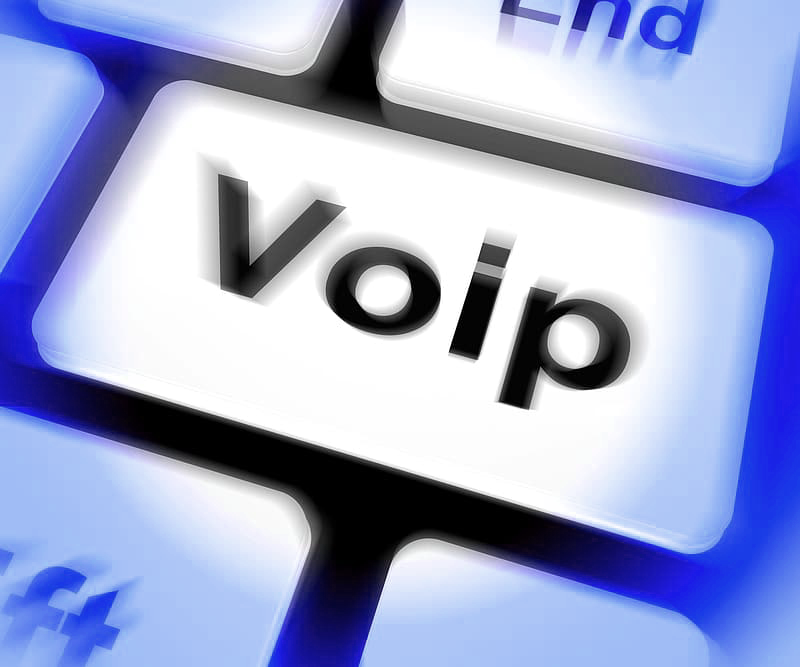 VoIP concept image